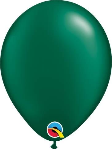 "Qualatex Latexballon Radiant Pearl Forest Green 13cm/5"" 100 Stück"