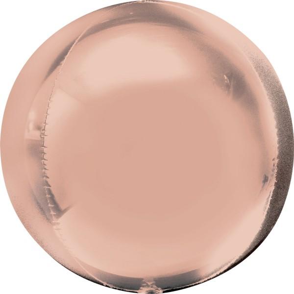 """Anagram Folienballon Orbz Rose Gold 40cm/16"""""""