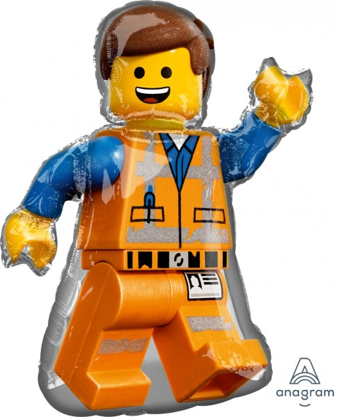 "Anagram Folienballon Lego Movie 2 80cm/32"""