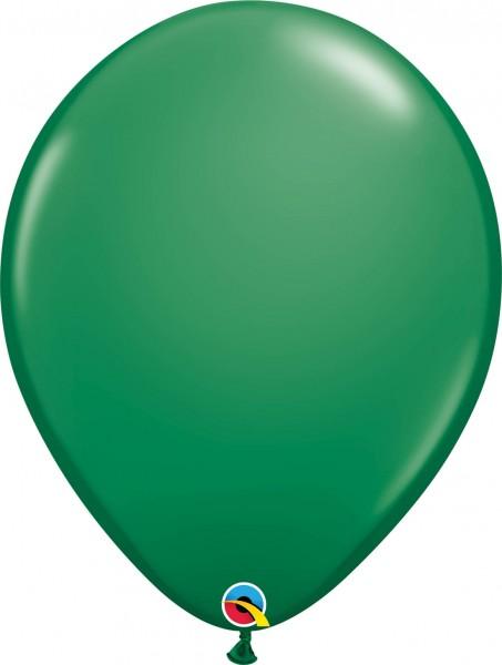 "Qualatex Latexballon Standard Green 40cm/16"" 50 Stück"