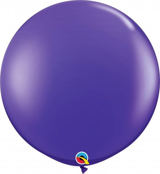 Qualatex Latexballon Jewel Quartz Purple 90cm/3' 2 Stück