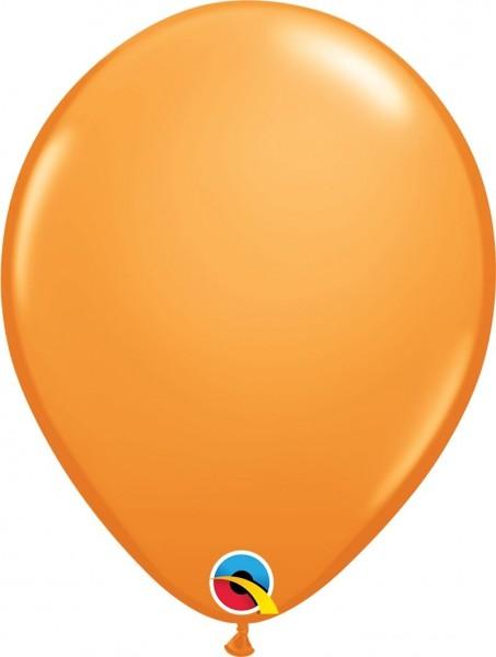 "Qualatex Latexballon Orange 28cm/11"" 6 Stück"