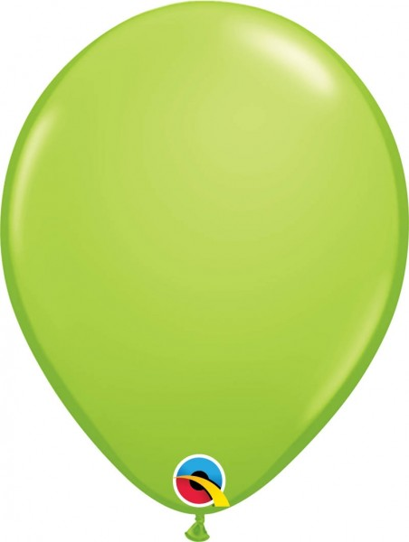 "Qualatex Latexballon Fashion Lime Green 28cm/11"" 100 Stück"