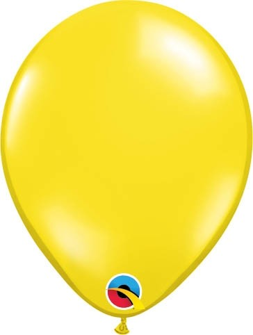 "Qualatex Latexballon Jewel Citrine Yellow 13cm/5"" 100 Stück"
