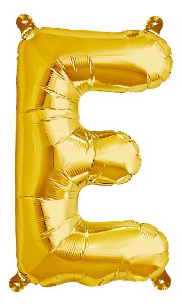 "Northstar Folienballon Buchstabe E Gold 40cm/16"""