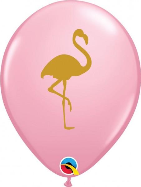 "Qualatex Latexballon Flamingo 28cm/11"" 25 Stück"
