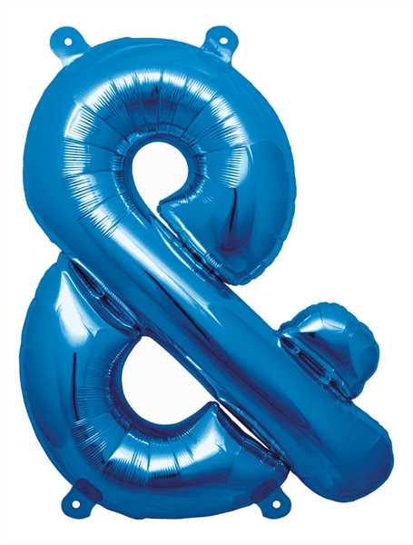 "Northstar Folienballon Buchstabe & Blue 16"""