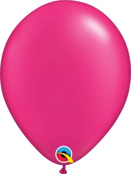 "Qualatex Latexballon Radiant Pearl Magenta 28cm/11"" 100 Stück"
