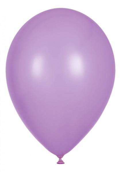 "Globos Luftballons Pearl Flieder Naturlatex 30cm/12"" 100er Packung"