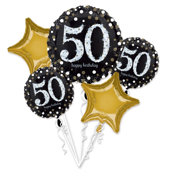 "Anagram Ballon Party Set ""50. Geburtstag"""