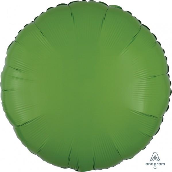"Anagram Folienballon Rund Kiwi Green 45cm/18"""