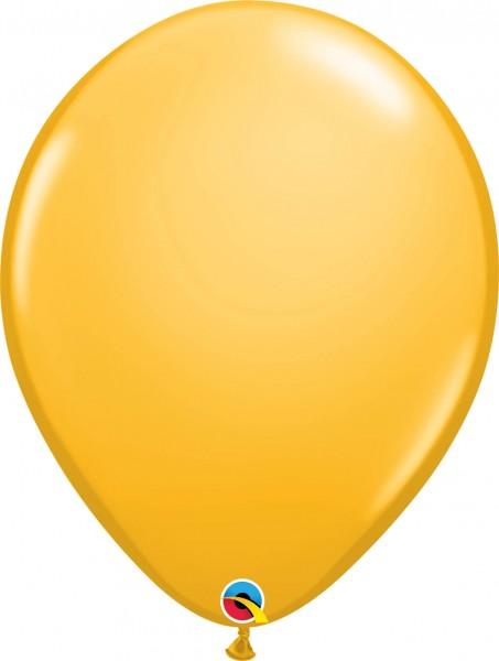 "Qualatex Latexballon Fashion Goldenrod 40cm/16"" 50 Stück"