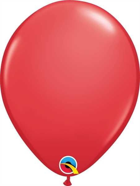 "Qualatex Latexballon Standard Red 28cm/11"" 100 Stück"