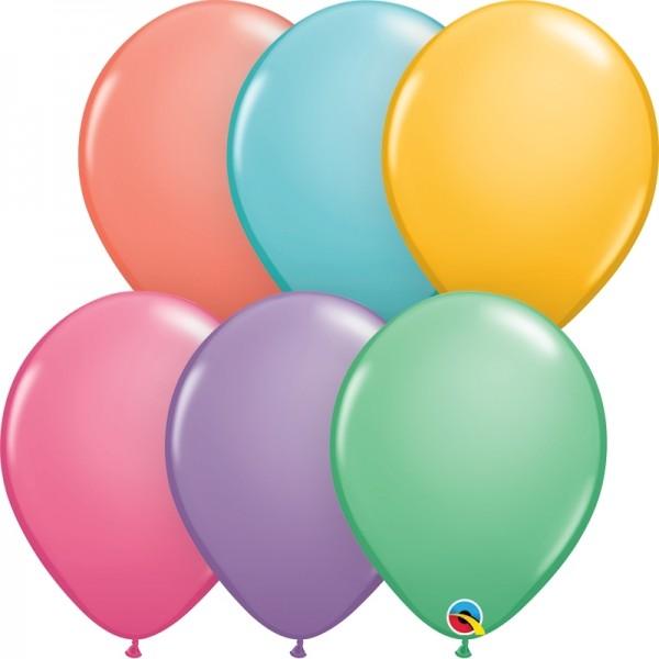 """Qualatex Latexballon Candy Assortment 13cm/5"""" 100 Stück"""