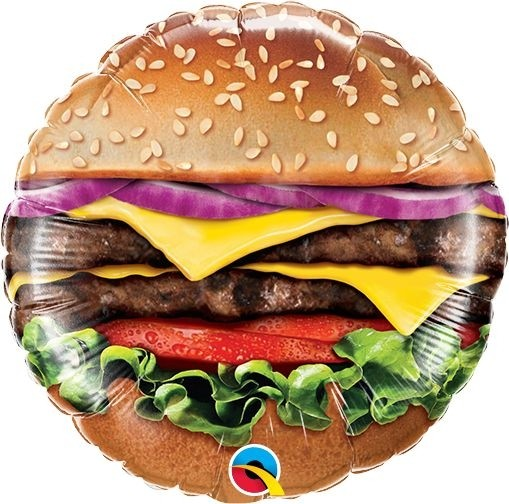 "Qualatex Folienballon Cheeseburger 23cm/9"""