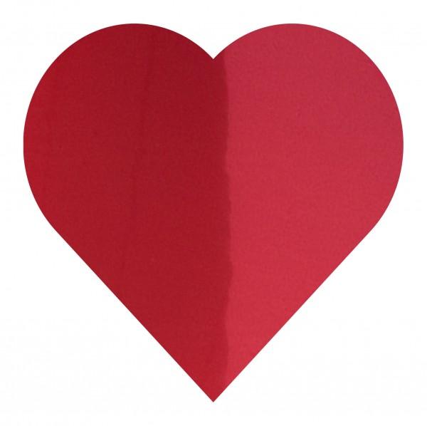 Goodtimes Folienkonfetti 3cm Herz 100g Rot