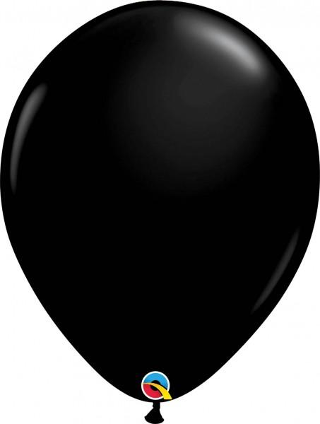 "Qualatex Latexballon Fashion Onyx Black 40cm/16"" 50 Stück"
