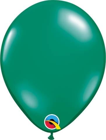 "Qualatex Latexballon Jewel Emerald Green13cm/5"" 100 Stück"