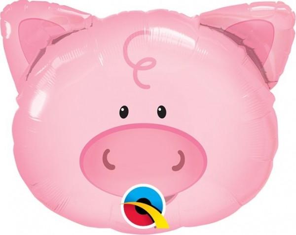 "Qualatex Folienballon Playful Pig 36cm/14"""