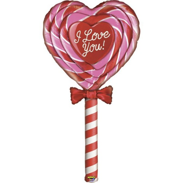 Betallic Folienballon Special Delivery Love Lollipop 152cm/5'