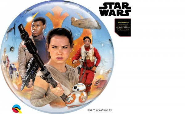 Qualatex Bubbles Star Wars: The Force Awakens 56cm/22""