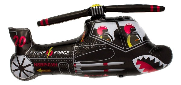 Northstar Folienballon Black Chopper 36""