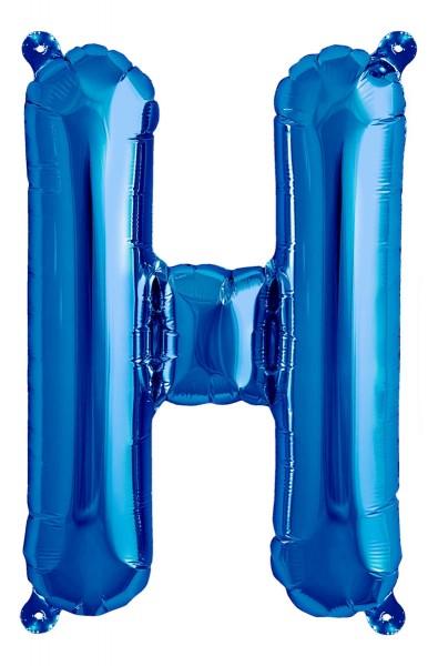 "Northstar Folienballon Buchstabe H Blue) 40cm/16"""