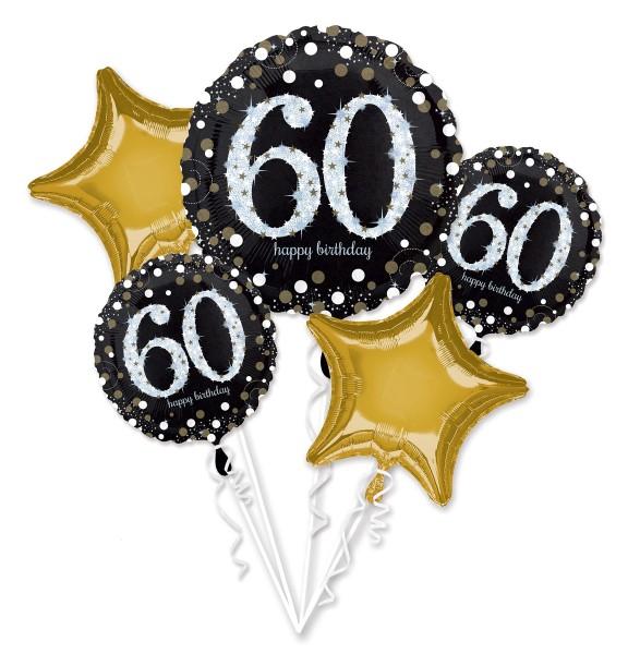 "Anagram Ballon Party Set ""60. Geburtstag"""