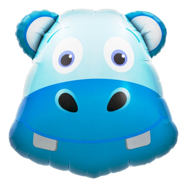 Northstar Folienballon Hippo Head 28""