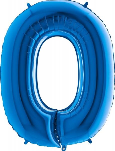"""Grabo Folienballon Buchstabe O Blue 100cm/40"""""""