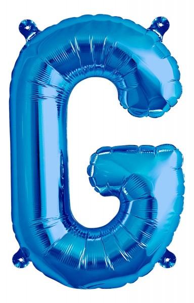 "Northstar Folienballon Buchstabe G Blue 40cm/16"""