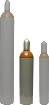 20L Ballongas Mietflasche mit 3,6m³ Inhalt und 200 Bar Druck
