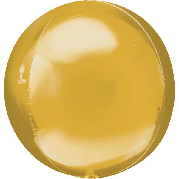 """Anagram Folienballon Jumbo Orbz Gold 50cm/20"""""""