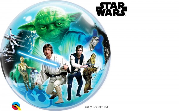 Qualatex Bubbles Star Wars 56cm/22""