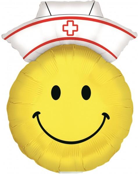 """Betallic Folienballon Smiley Nurse Mini 35cm/14"""""""