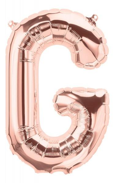 """Northstar Folienballon Buchstabe G Rose Gold 40cm/16"""""""