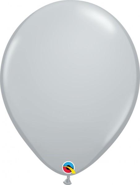 "Qualatex Latexballon Fashion Gray 40cm/16"" 50 Stück"