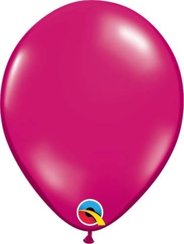 "Qualatex Latexballon Jewel Magenta 13cm/5"" 100 Stück"
