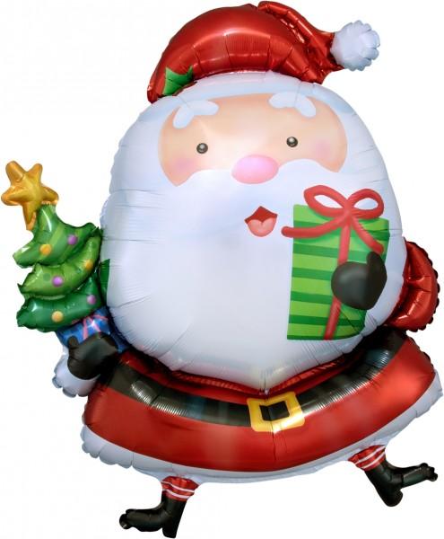"Anagram Folienballon Santa Claus 79cm/31"""