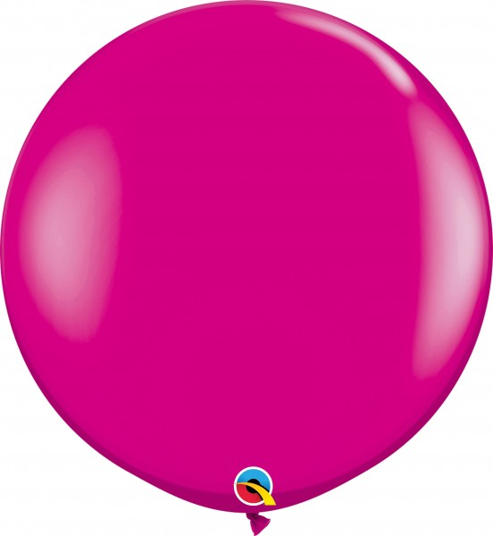 "Qualatex Latexballon Fashion Wild Berry 90cm/3"" 2 Stück"