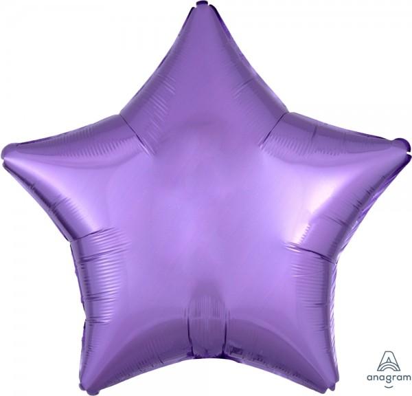 "Anagram Folienballon Stern Pearl Lavender 50cm/20"""