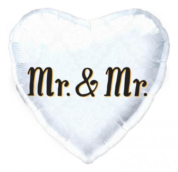 """Northstar Folienballon Mr. & Mr. Heart 18"""""""