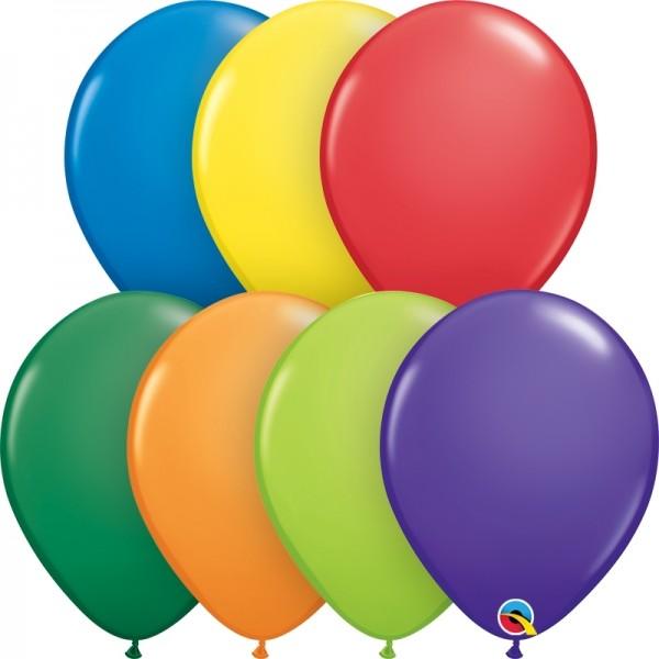 "Qualatex Latexballon Carnival Assortment 13cm/5"" 100 Stück"
