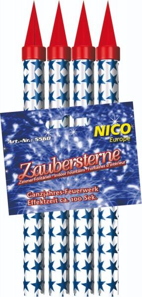 Nico Zaubersterne, ca. 100 Sekunden, 4er-Schachtel
