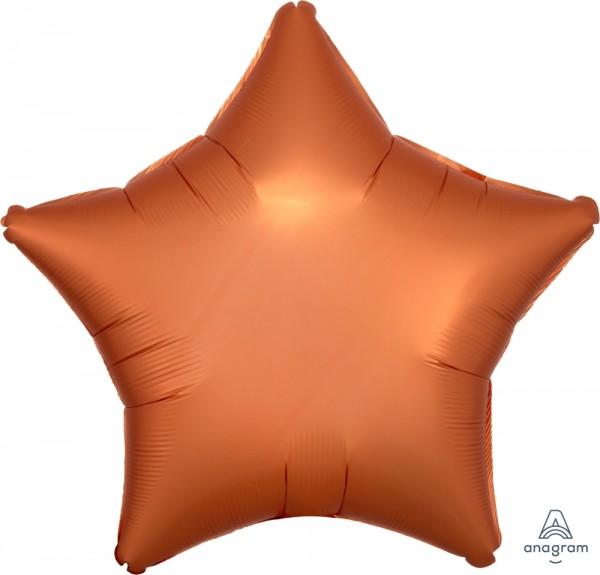 "Anagram Folienballon Stern Satin Amber 50cm/20"""