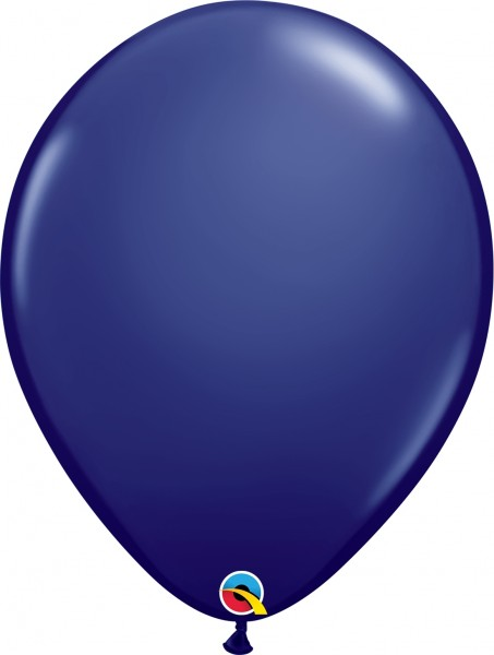 "Qualatex Latexballon Fashion Navy 40cm/16"" 50 Stück"