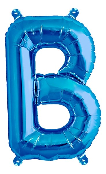 "Northstar Folienballon Buchstabe B Blue 40cm/16"""