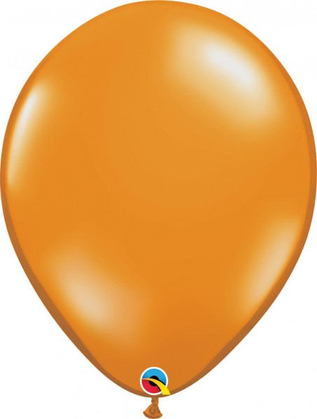 "Qualatex Latexballon Jewel Mandarin Orange 40cm/16"" 50 Stück"