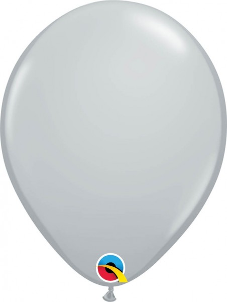 "Qualatex Latexballon Fashion Grey 28cm/11"" 100 Stück"