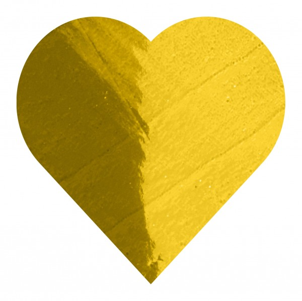 Goodtimes Folienkonfetti 3cm Herz 100g Gold